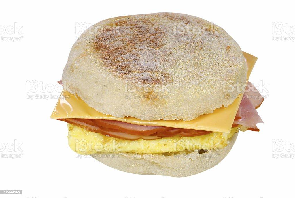 Ei und Käse-sandwich Lizenzfreies stock-foto
