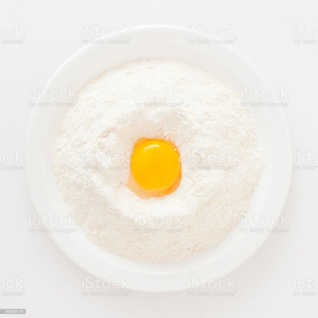 Eier und Mehl – Foto