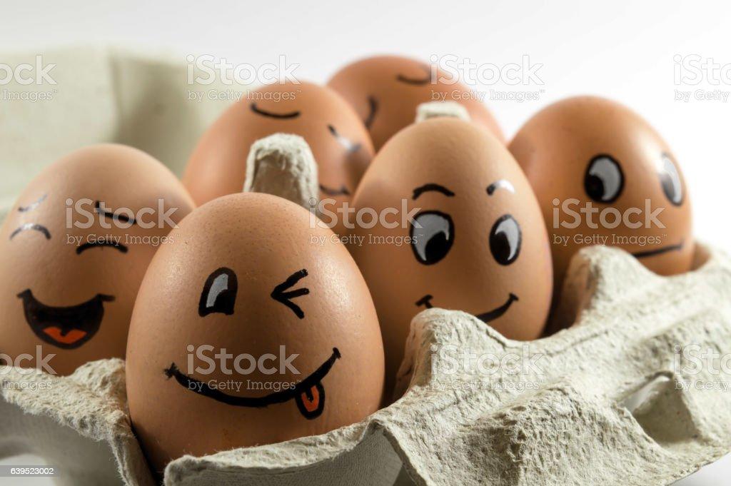 egg art stock photo