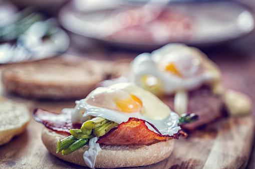 Egg Benedict For Breakfast