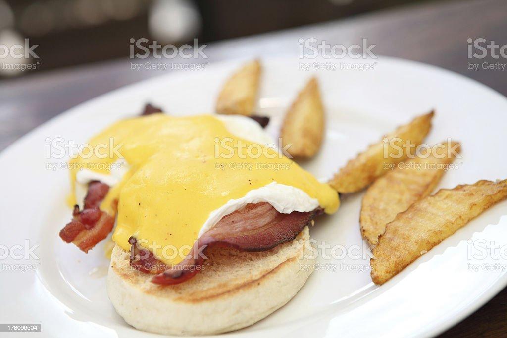 egg benedict royalty-free stock photo