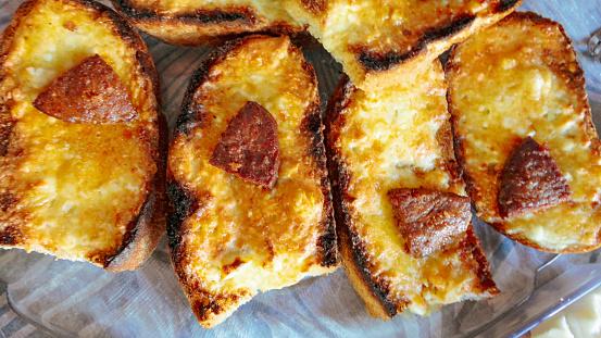 Delicious Egg Sandwich - Breakfast Recipe - Cheesy Egg Toast