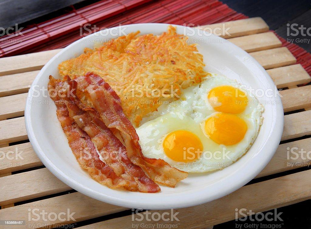 Egg Breakfast stock photo