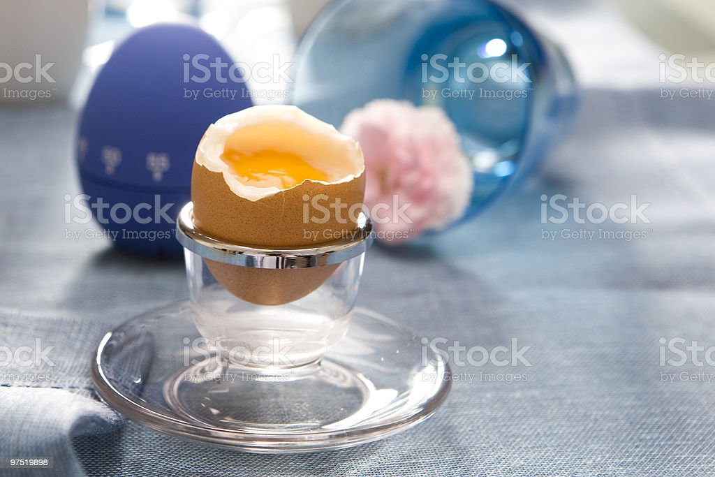egg breakfast royalty-free stock photo