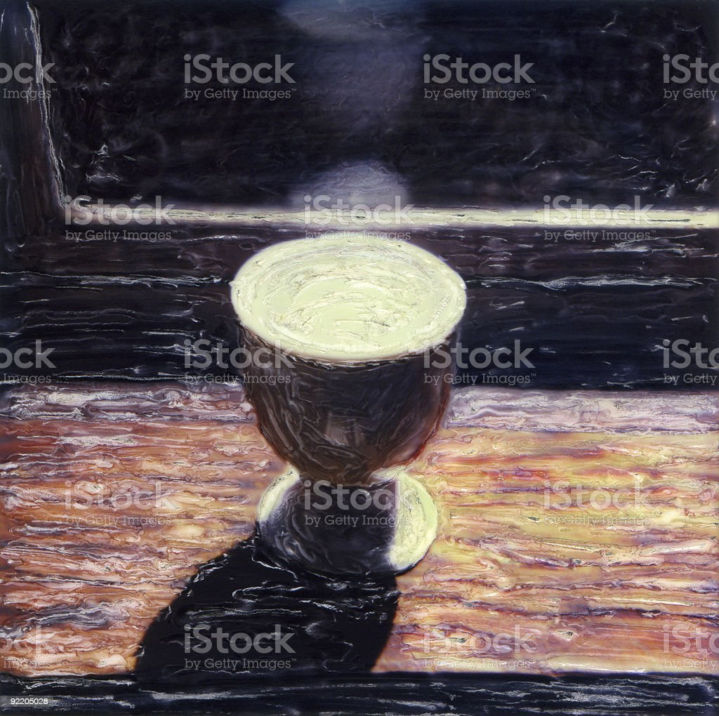 Egg Cup royalty-free stock photo