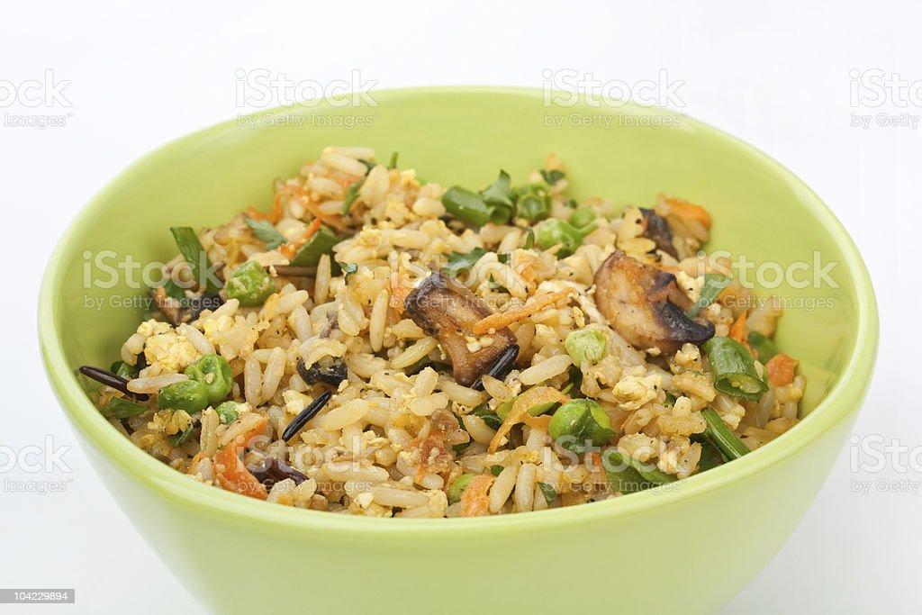 Egg Fried Rice stock photo