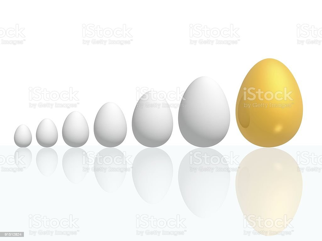 egg growth royalty-free stock photo