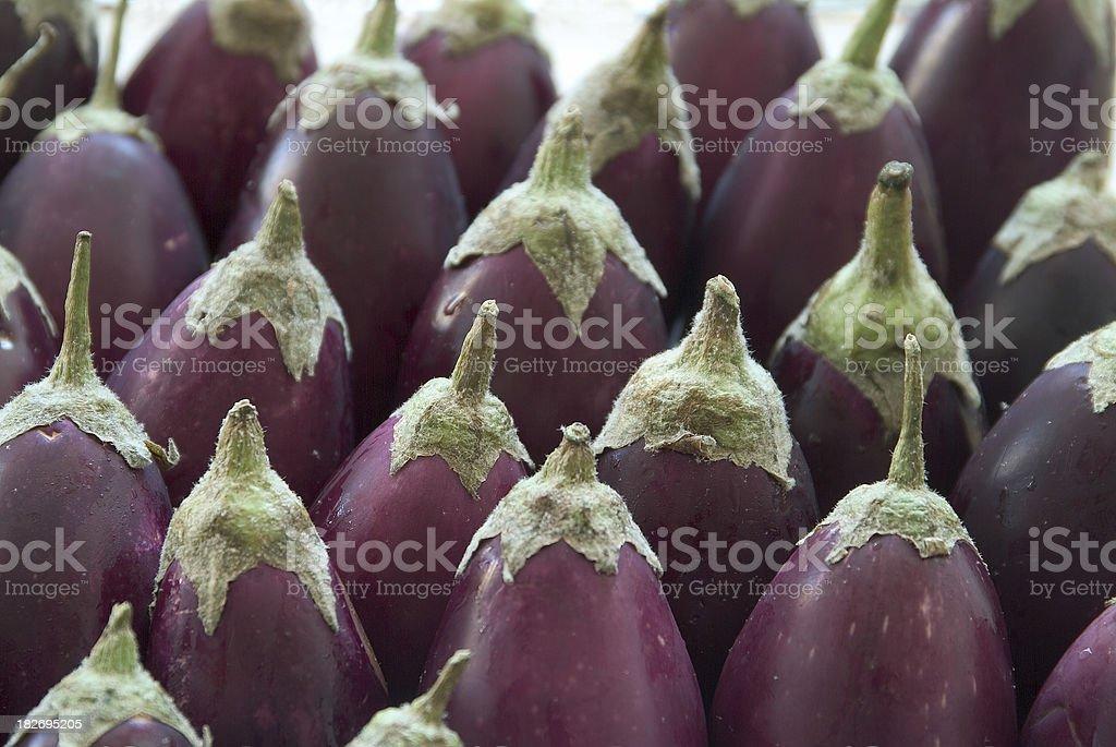egg plants royalty-free stock photo