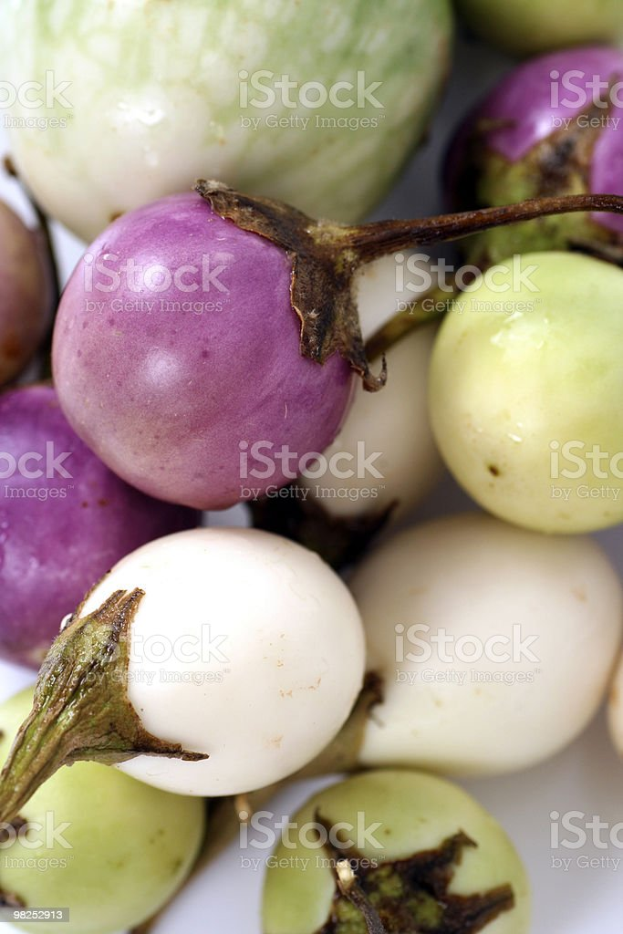 Egg Plants royalty-free stock photo