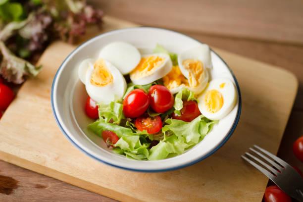 Egg salad Breakfast food stock photo