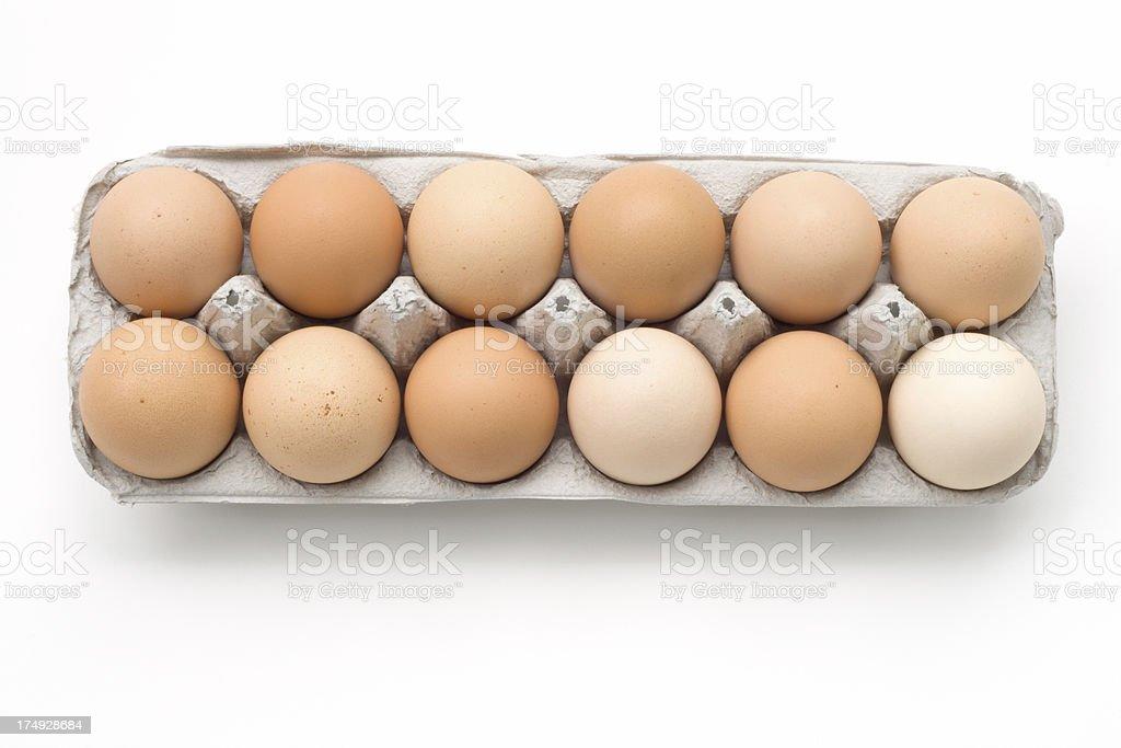 Egg Series - Dozen stock photo