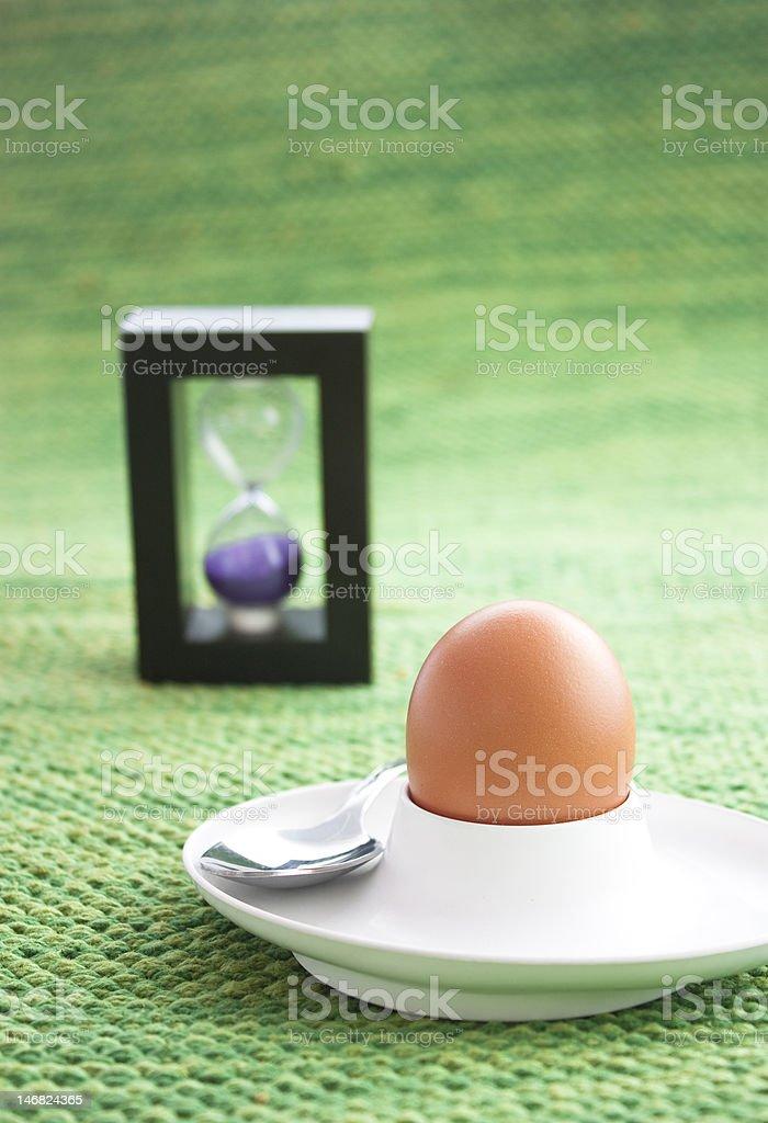 Egg timer royalty-free stock photo
