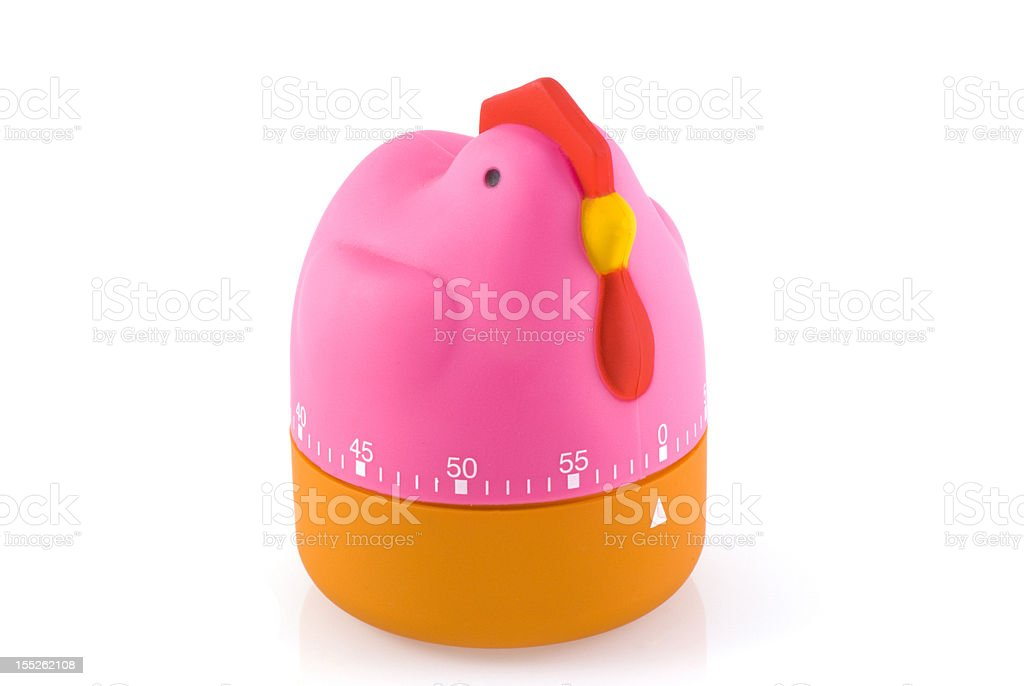 Egg timer. royalty-free stock photo