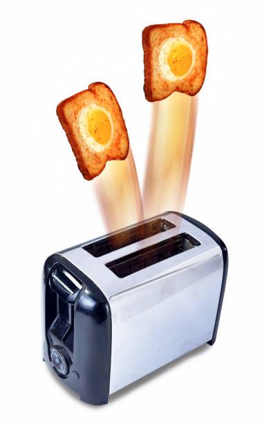 ei-toast. - pop up stock-fotos und bilder