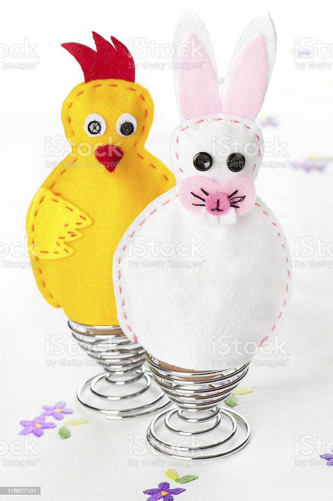 Egg warmers royalty-free stock photo