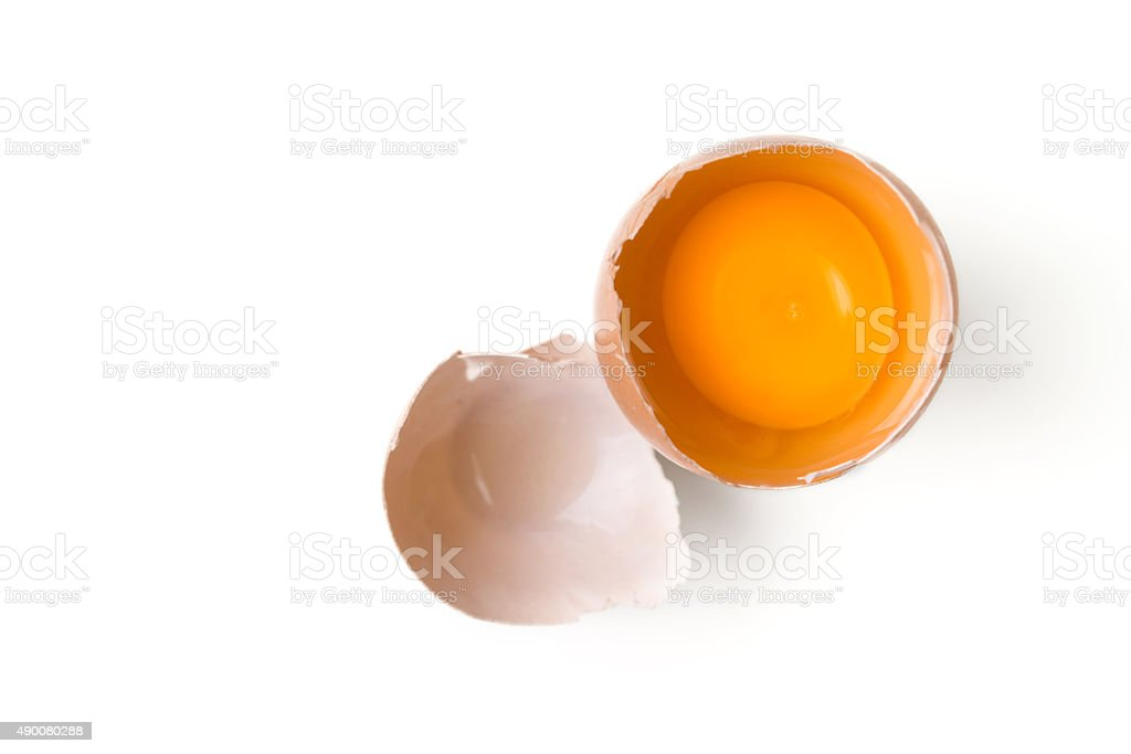 egg yolk stock photo