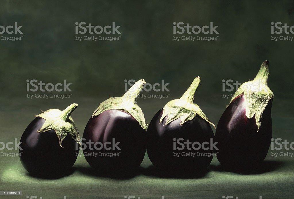Egg-plant royalty-free stock photo