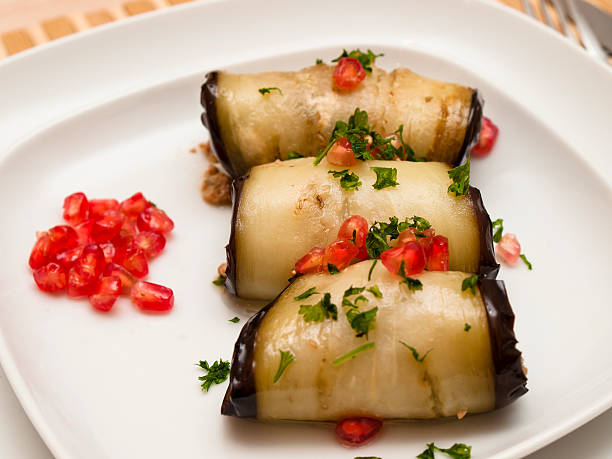 Eggplant roulades – Foto