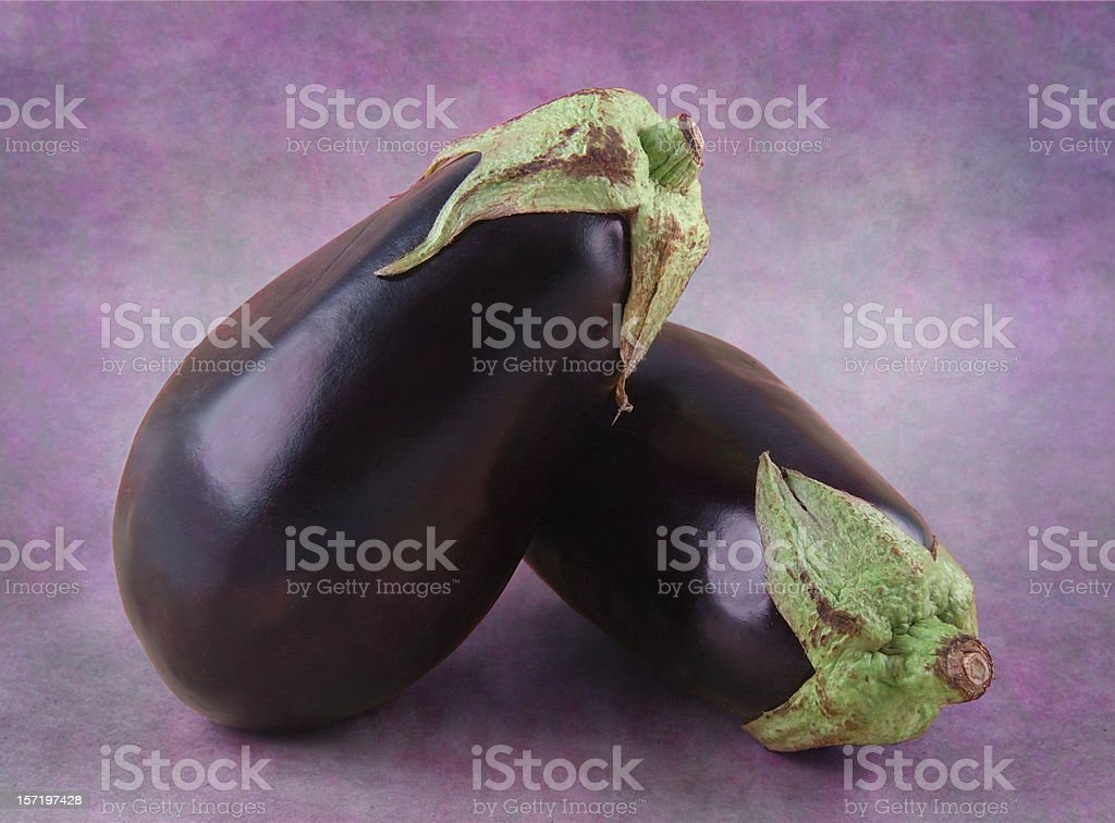 Eggplant still life royalty-free stock photo