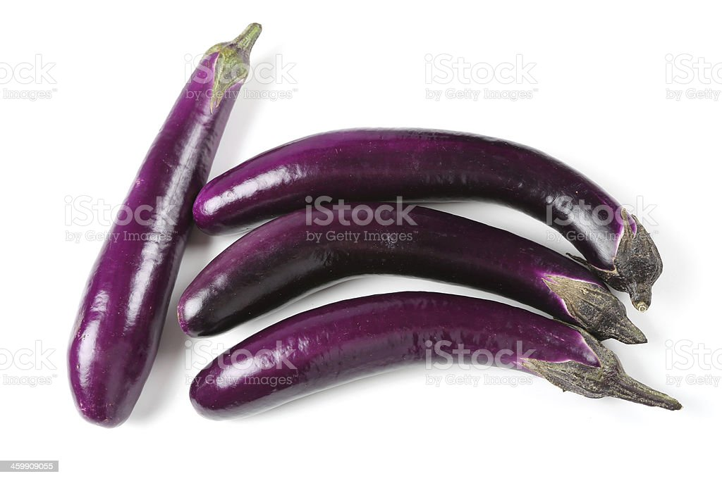 Eggplants royalty-free stock photo