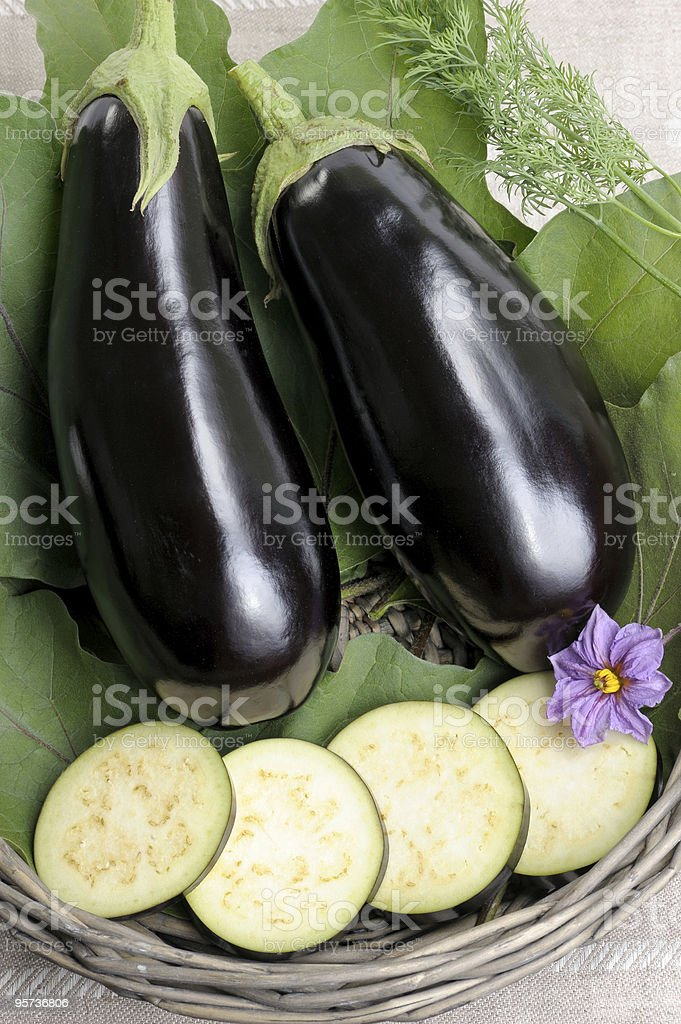 Eggplants. royalty-free stock photo