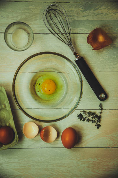 Eggs and Extras stock photo
