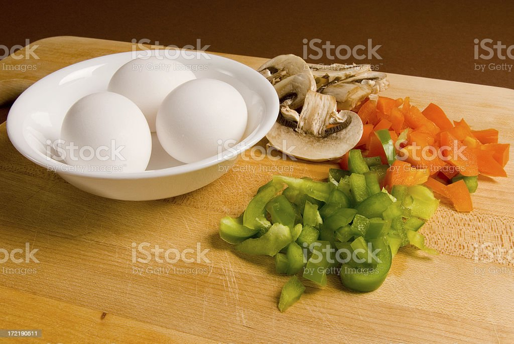 Eggs and stuff-4 royalty-free stock photo