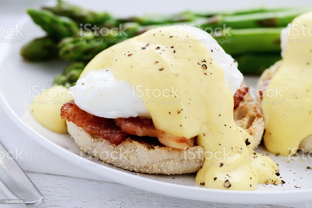 Eggs Benedict royalty-free stock photo