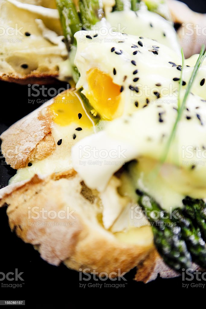 Eggs Benedicts royalty-free stock photo