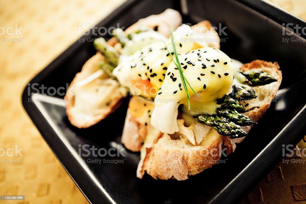 Eggs Benedicts royalty-free stock photo