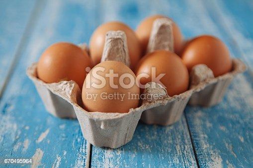 Eggs: Egg Carton