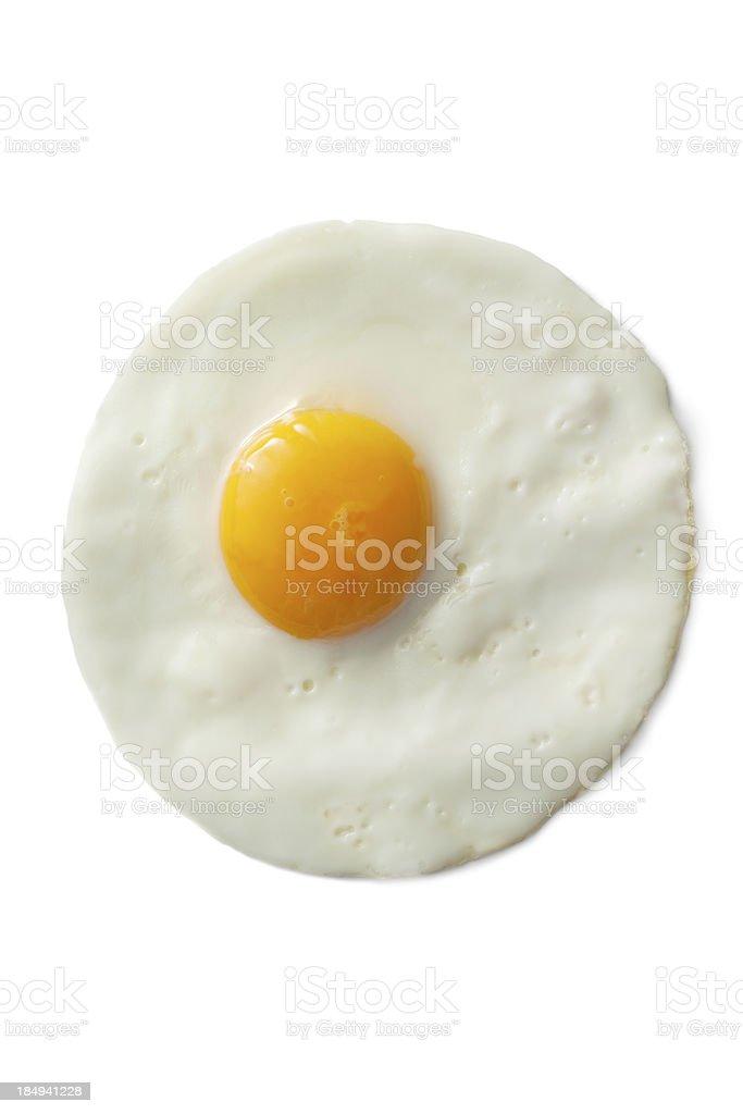 Eggs: Fried Egg royalty-free stock photo