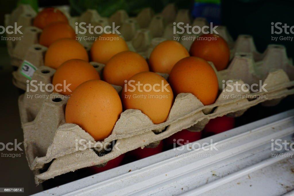 에그스 메트로폴리스 치킨 농장 패키지 royalty-free 스톡 사진