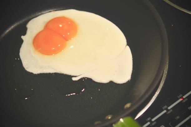 Eggs in fry pan each egg with double yolks double egg yolks fried in picture id1044538886?b=1&k=6&m=1044538886&s=612x612&w=0&h=8a5a 0runei87sfxw1id9x5czfjzalshj4wcuupjmwm=