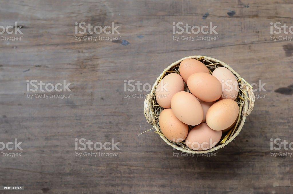 eggs on background stock photo