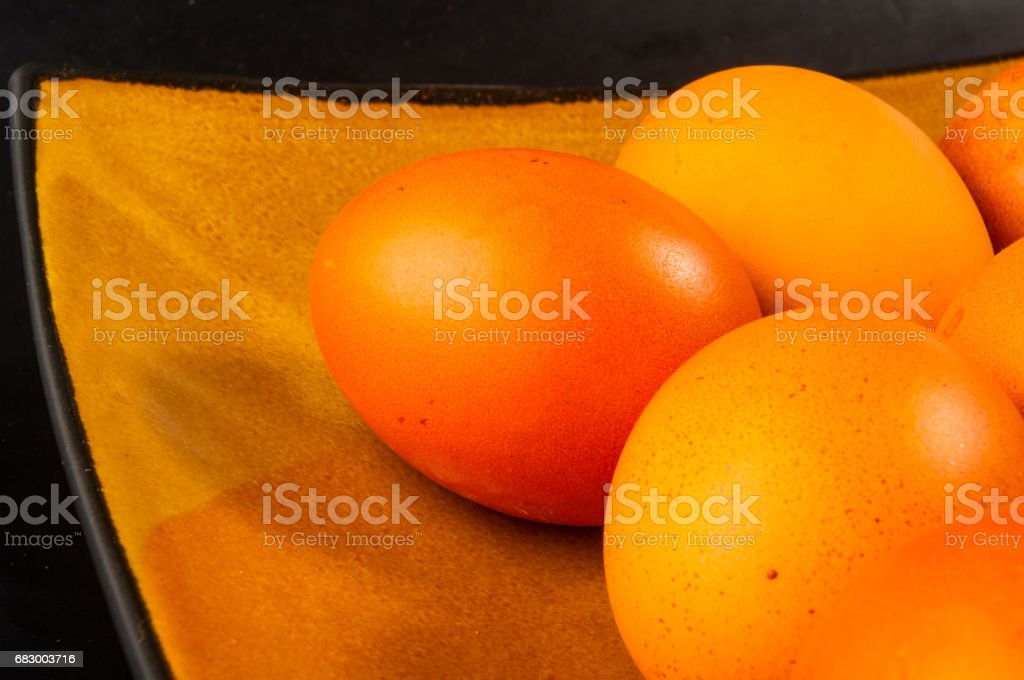 eggs on brown dish royalty-free stock photo