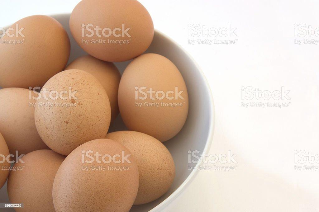 Huevos foto de stock libre de derechos