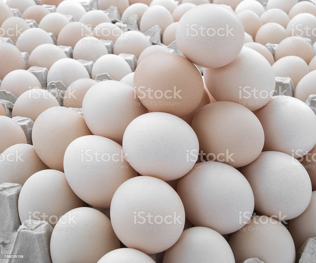 eggs stack up royalty-free stock photo