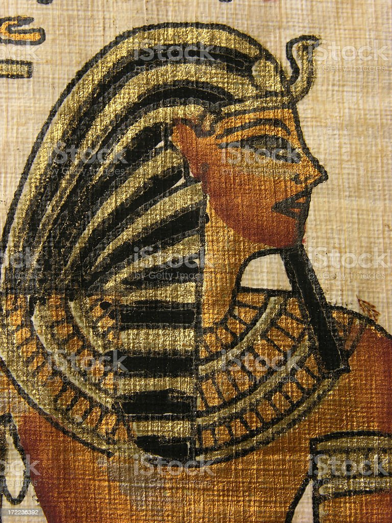 Egitptian pharaoh stock photo