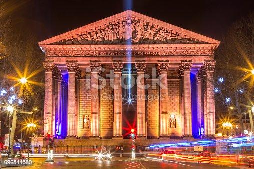 istock Eglise de la Madeleine, Paris, France 696544580