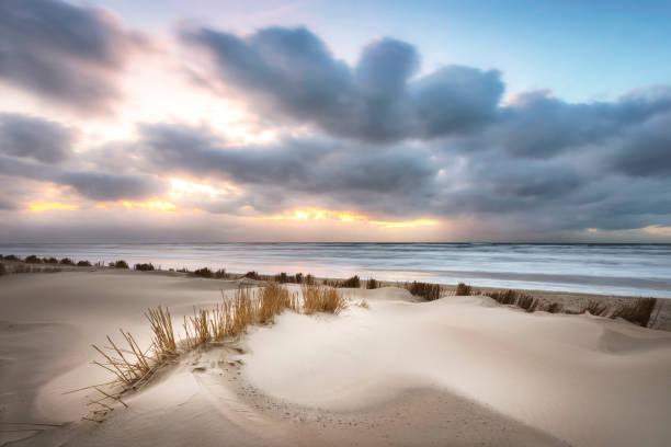 Egmond aan Zee, the Netherlands stock photo