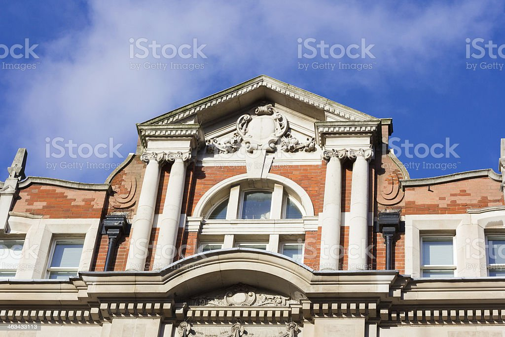 Egmont House in Tavistock Place, London royalty-free stock photo