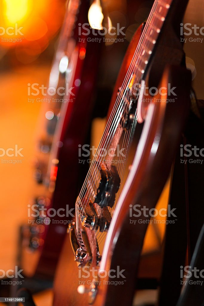e-guitars royalty-free stock photo