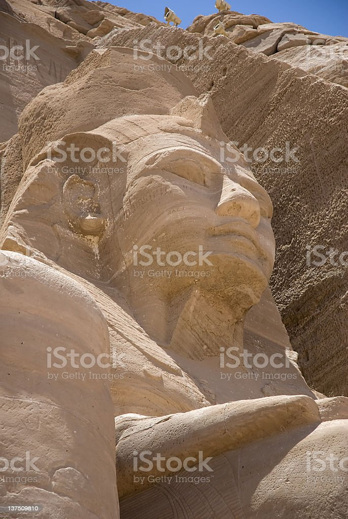 Egypt, Archaeology royalty-free stock photo