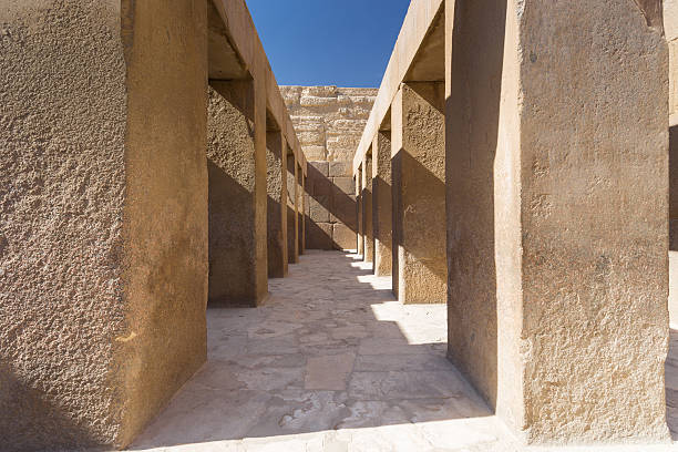 Ägypten.   Kairo – Gizeh.   General Blick auf die Pyramiden – Foto