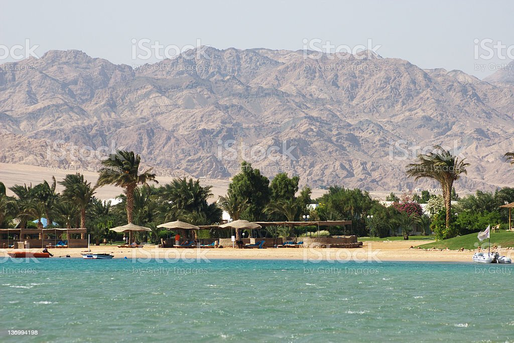 Egypt, Dahab, Sinai Peninsula. Red sea. stock photo
