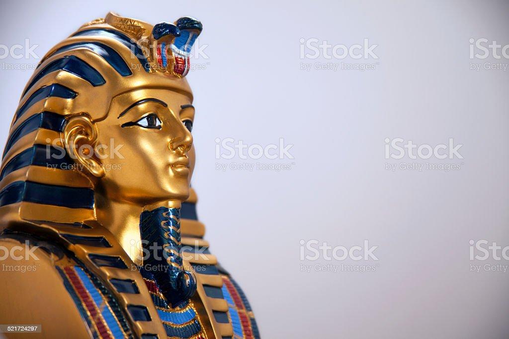 Egypt funerary mask stock photo