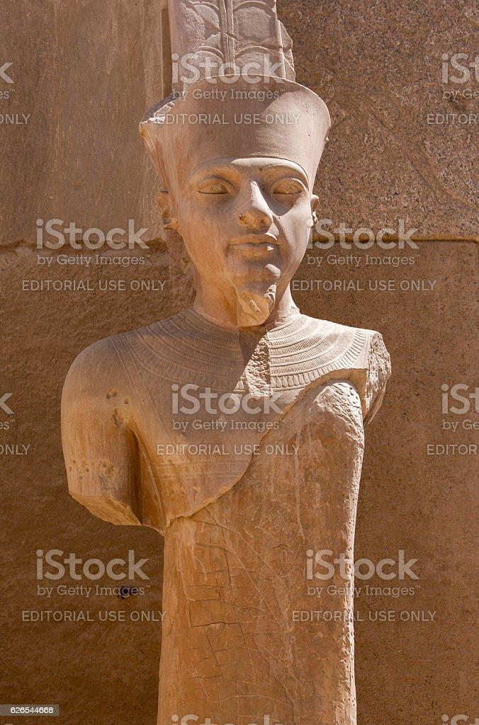 Egypt: Karnak Temple Complex stock photo