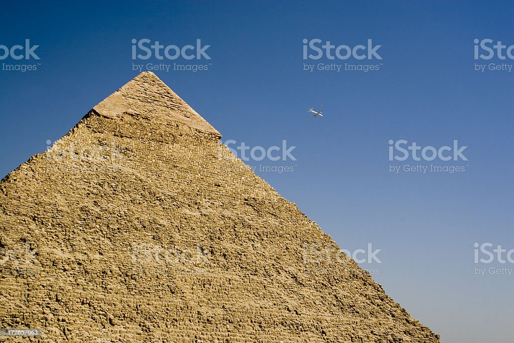 Egypt: Old and New royalty-free stock photo
