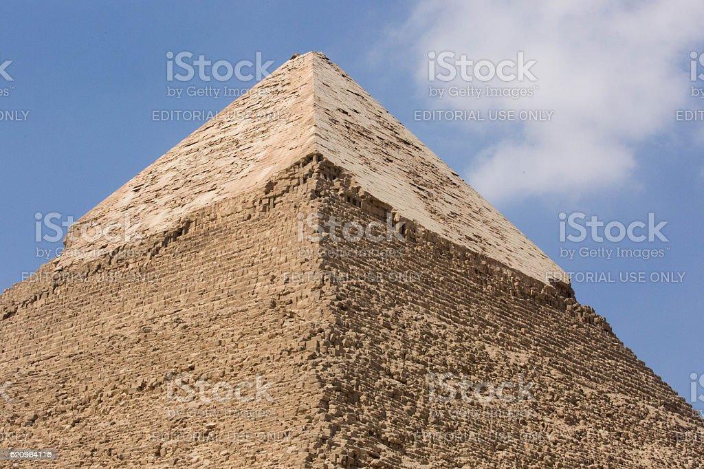 Egypt: Pyramid of Khafre in Giza foto royalty-free